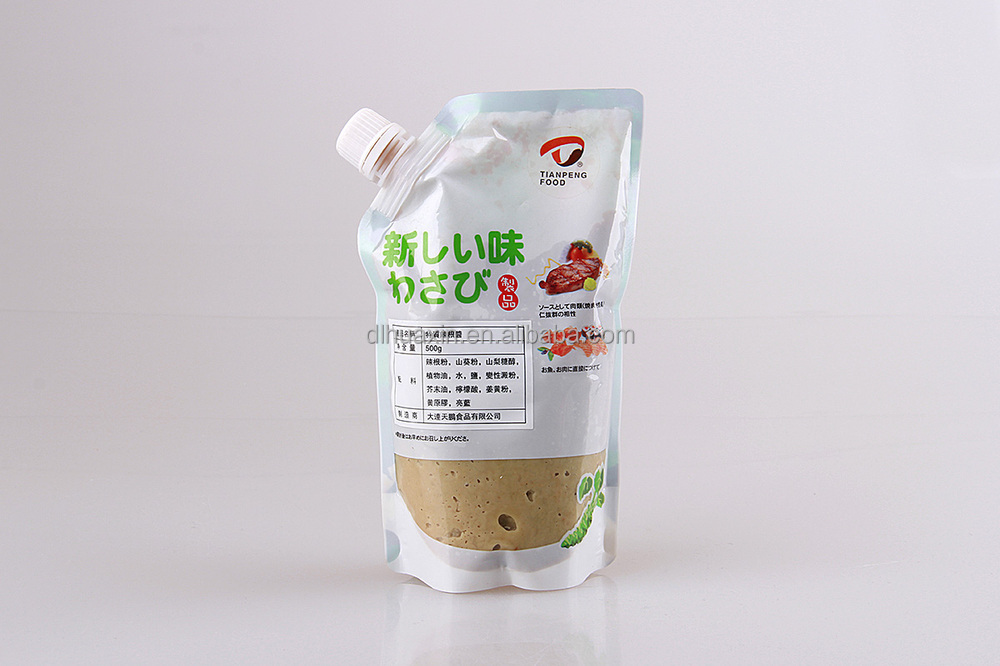 150g standing package frozen wasabi paste China supplier