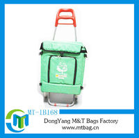 wine trolley cooler bag with large capacity