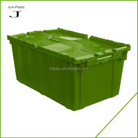 China Moving Packaging Storage Stackable plastic moving boxes wholesale