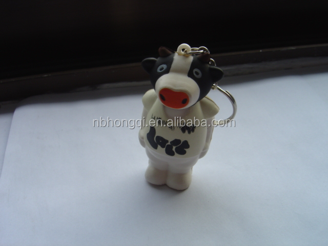Cow Shaped Squeeze Anti Stress Ball