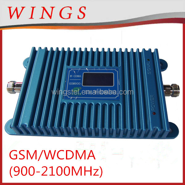 LCD GSM/WCDMA980 3g signal repeater / booster umts repeater coverage area 2000m2