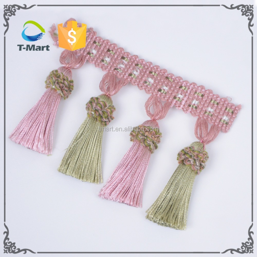 8cm Tassel Fringe for Curtain Decorations