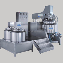domestic mixer / antibiotic ointment mixing tank with agitator/ 500L vaccum emulsifying homogenizing machine