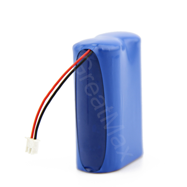 2S1P high star rechargeable 18650 battery 7.4v 1200mAh li-ion battery pack