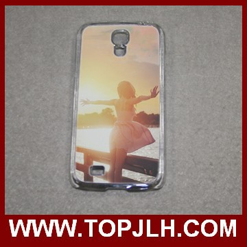 Sublimation cell phone case for Samsung s4 2D clear PC covers