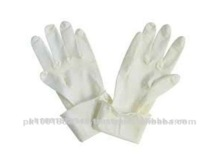 German Quality White Disposable Medical Latex Surgical Gloves