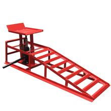 2T Adjustable Hydraulic Steel Car Ramp
