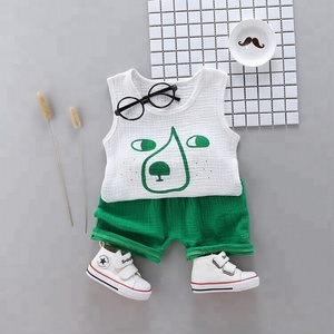 Popular new producing boy casual wear outfits children's clothing suits spring autumn baby clothing sets