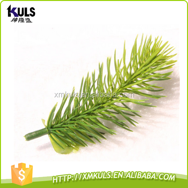 Christmas decorations 10.5 cm plastic pine needle branch artificial christmas tree parts