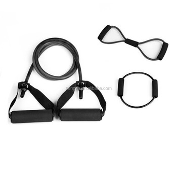 3pcs Home Exercise Resistance Tube Bands - Fitness Resistance Band Chest Expander