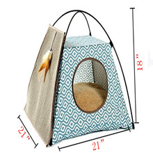 Moveable lightweight Pet tent dog cat bed shelter for sale