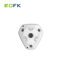 VR camera 1.3MP wireless 360 Degree Fish Eye IP camera P2P Mobile APP IR cut