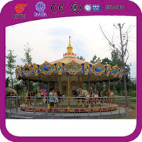 popular old European style 24 seats antique carousel for sale