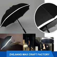 Alibaba 2017 New Design 30 Inches Safety Windproof Reflective Umbrella