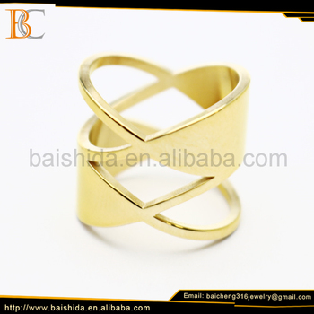 couple ring stainless steel ring jewelry gold 18k for unisex women men