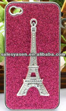 For iphone 5 bling diamond case with tower design