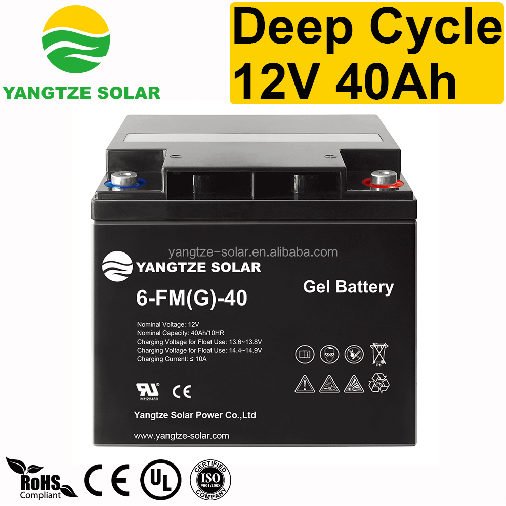 deep cycle 12v 40ah exide ups battery