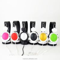 New OEM Order 3.5mm jack Kubite T-420 Computer headphone with Microphone made in shenzhen china factory alibaba