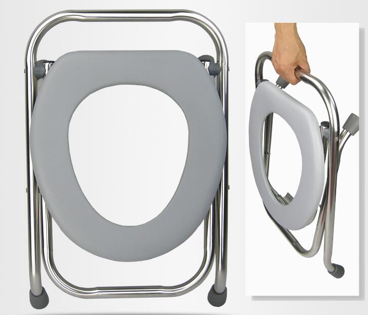 The best commode chair for elderly and diabled people with stainless steel The best commode chair for elderly and diabled people