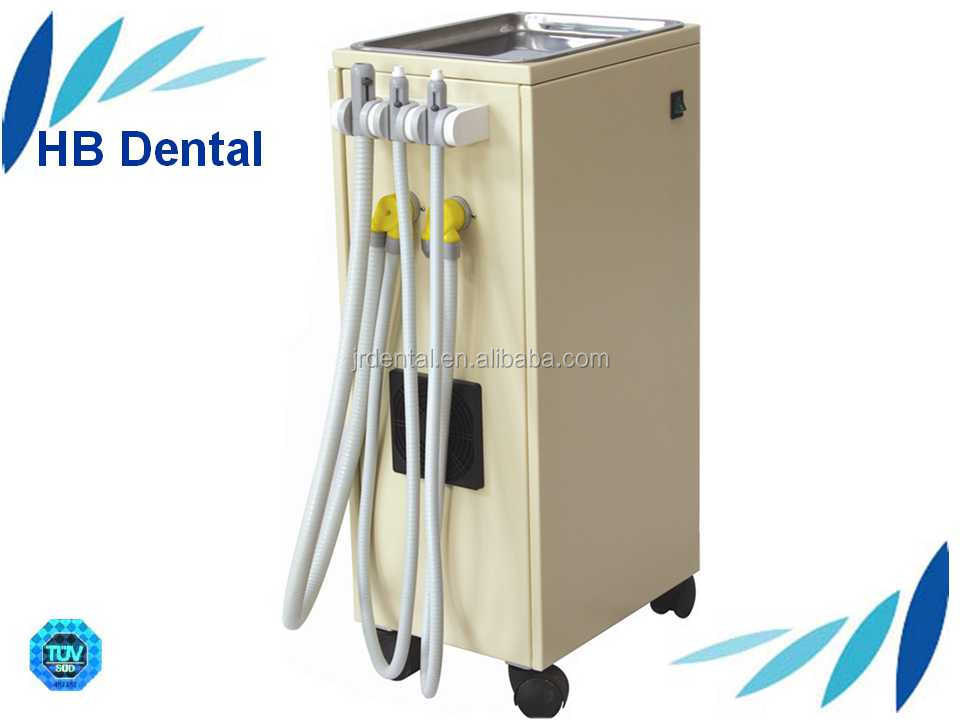 portable dental mobile suction