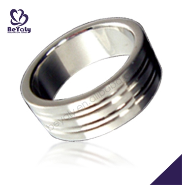Fashion cheap wholesale custom stainless steel ring