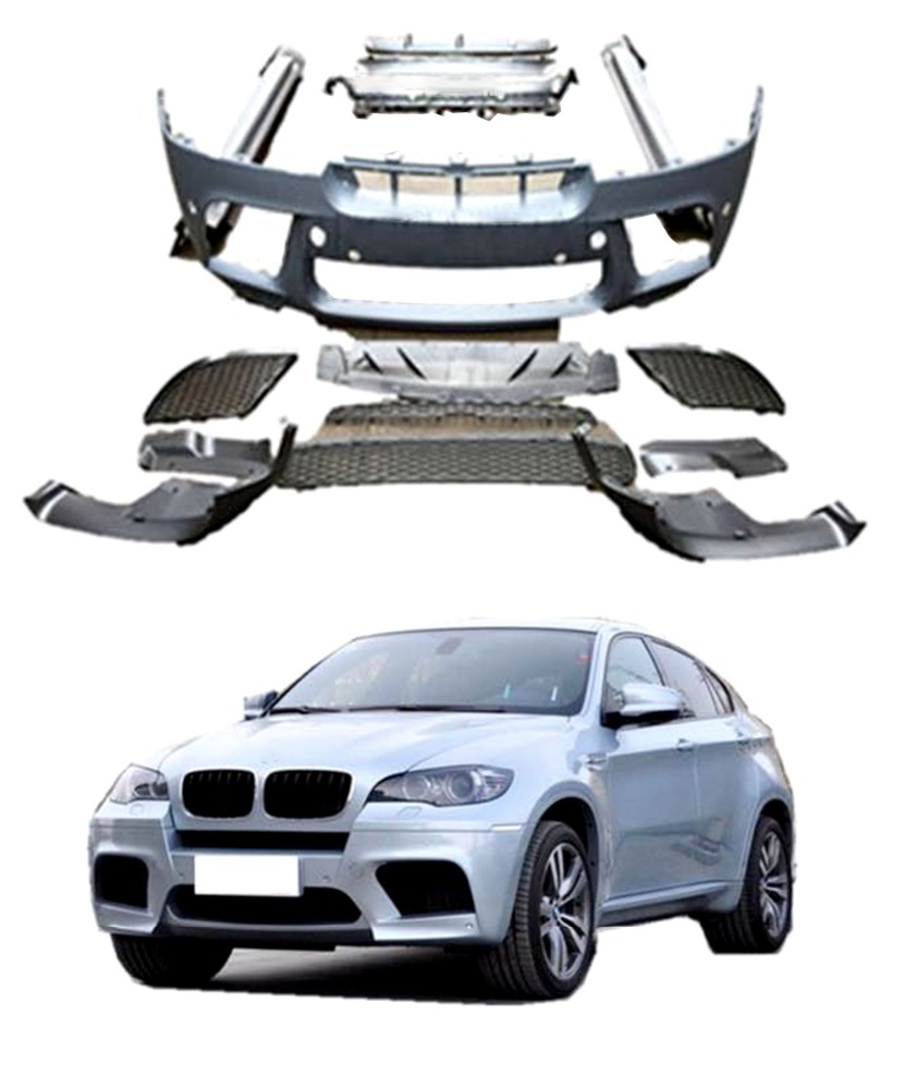 M PERFORMANC E Style Plastic X6 Car Body Kits for BMW X6 E71 08-13