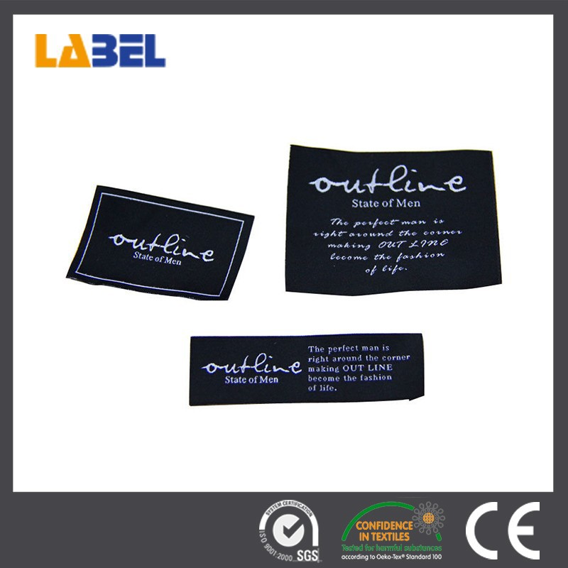China manufacturer sale cheaper price iron on name tag labels