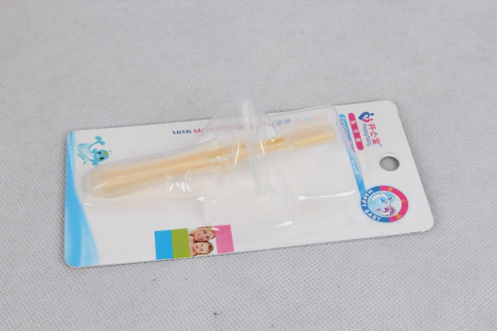Baby silicone toothbrush