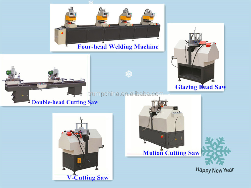 UPVC window making machine , UPVC window welding machine , UPVC window machine