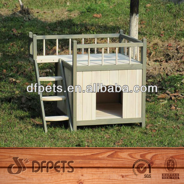 Modern Wooden Dog Kennel Non-Toxic DFD3008