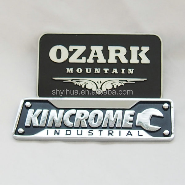 Customized Zinc Alloy metal badge nameplate