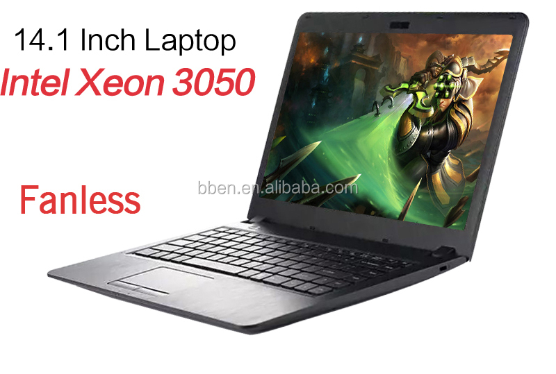 14 inch Ultrabook Windows 10 Dual Core Intel Atom D2500 Cheap Laptop
