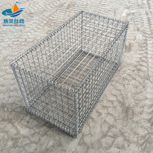 welded gabion wire mesh box/galvanized gabion manufacture