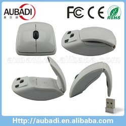 hot selling arc folding 2.4g wireless optical mouse driver