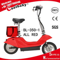 BL350-1ALL RED Coolbaby good quality electric bike 350w
