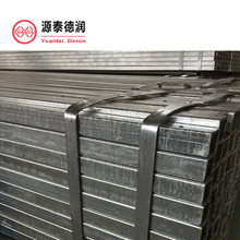 galvanized square structure steel pipe/tube fence posts