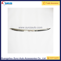 For Toyota Corolla 2014 Auto Accesory ABS Plastic Chromed front bumper gate bar