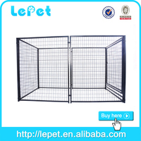 2015 new welded panel square tube dog kennel