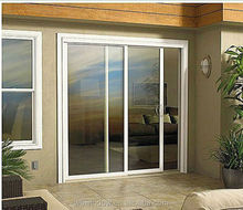 Cheap interior PVC door price,LG brand PVC patio position and horizontal sliding stlye panel