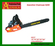105cc gasoline power chainsaw with easy starter CE HS code 84678100 4.8kw