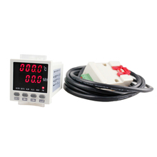 WSK-308 panel size 48*48mm LED digital display industrial usage <strong>temperature</strong> and humidity controller with RS 485 for green house