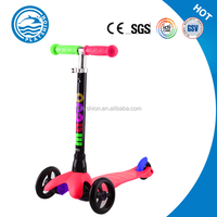 Wholesale mini kick scooter sale double pedal for kids