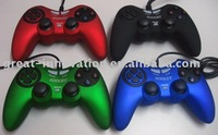 USB Double shock function joypad game joystick