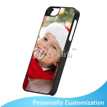Sublimation Coated DIY 2D cell phone case with card slot for iPhone5/5s