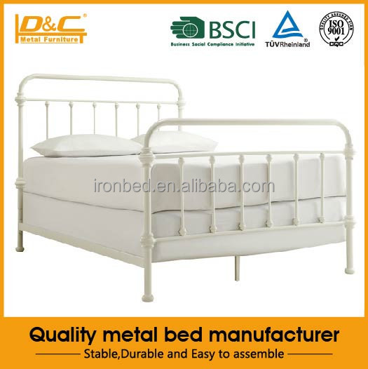 Hot selling high quality metal bed furniture bed sheet minion bed