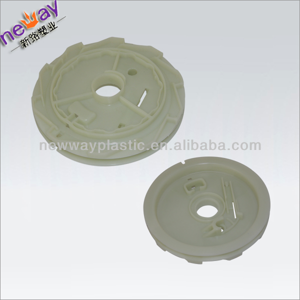 plastic molding for motorcycle engine cover parts plastic
