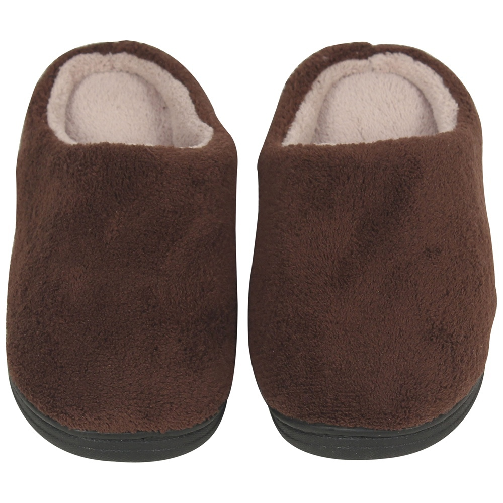 LUXEHOME The sexy brown Jersey warm man flash <strong>slipper</strong>