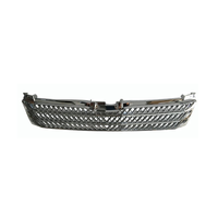 hiace car part chrome Front Grille #000474 Hiace wide body hiroof front grille hiace 2005 front grille chrome