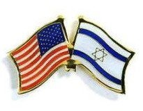 US-Israeli Flag Pins