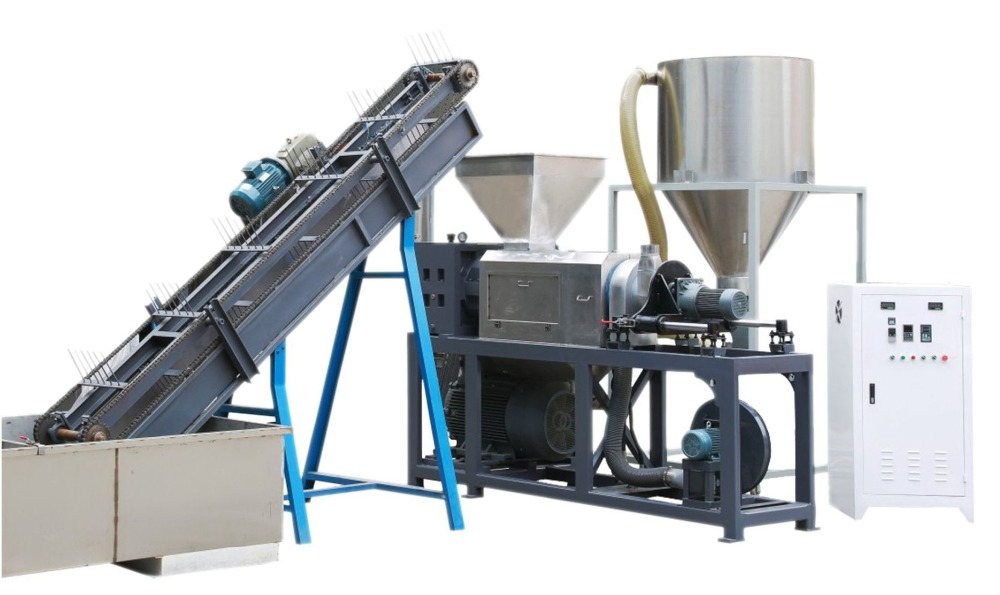 Bangladesh hot sale pp pe plastic film recycling washing for Electric motor recycling machine